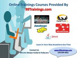 Embedded Systems Online Training Provided by  99trainings.com
