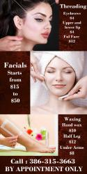 Eyebrow threading and more