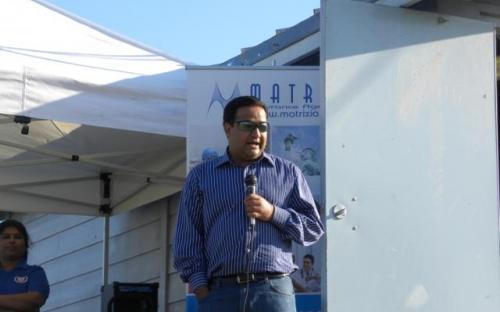 Sunny Sethi addressing the gathering.JPG