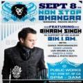 "Non Stop Bhangra #85--w/Special Guest ""Bikram Singh"" Live!"