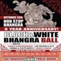 Non Stop Bhangra #86--8 Year Anniversary! Black & White Bhangra Ball!