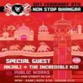 Non Stop Bhangra #89--Feb. 9th! The color theme is red!