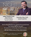 Night of Joy with Dr. Paul Dhinakaran