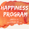 The Happiness Program - September 9th