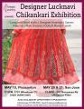 Designer Lucknavi chikankari- San Jose expo