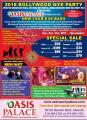Oasis Palace Bollywood NYE Party 2018