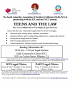 Important Legal Issues for every Teenager