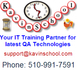 Kavin School- Selenium Course Training