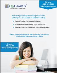 SOFTWARE QA TRAINING--CAREER START, CAREER GROWTH & ADVANCE QA!!!!